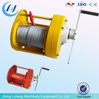 Portable small electric winch, 12v electric winch motor/mini winch