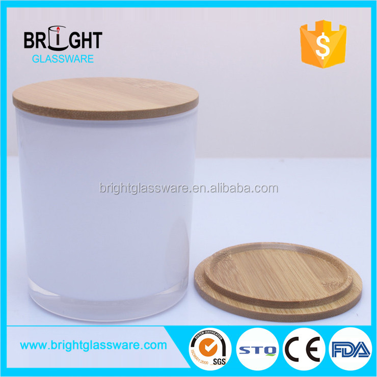 Shenzhen round ecofriendly wooden candle holder lid