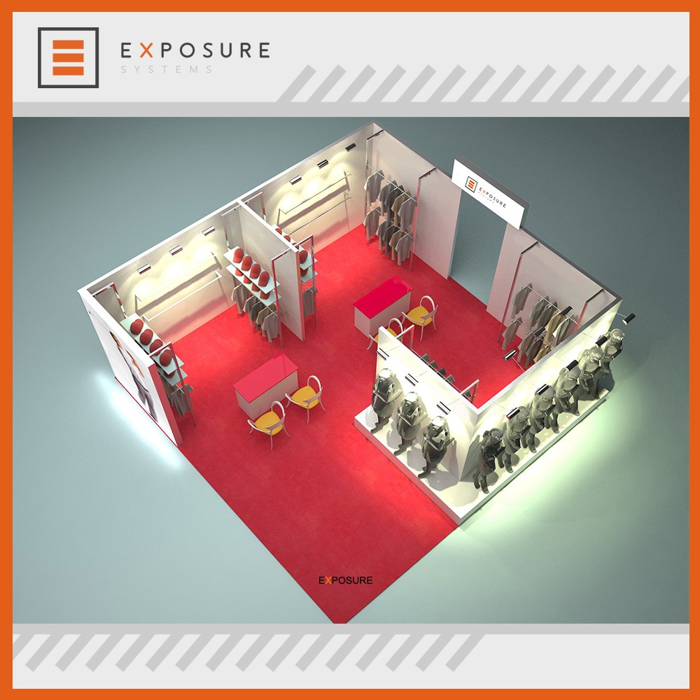 Custom Design Exhibition Booth