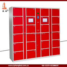 Preferential Price Metal Stackable Cabinets Outdoor Convenience Fingerprint Digital Lock Shopping Mall Lockers