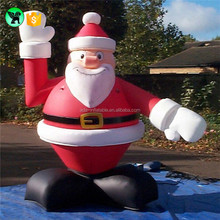 Lovely Inflatable Santa Claus Cartoon For Christmas Event Snowman Decoration Y07