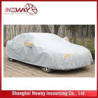 Cost price best belling car cover fabric textile sunscreen