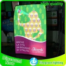 2017NEW finegreen lighting animated electroluminescent paint/poster