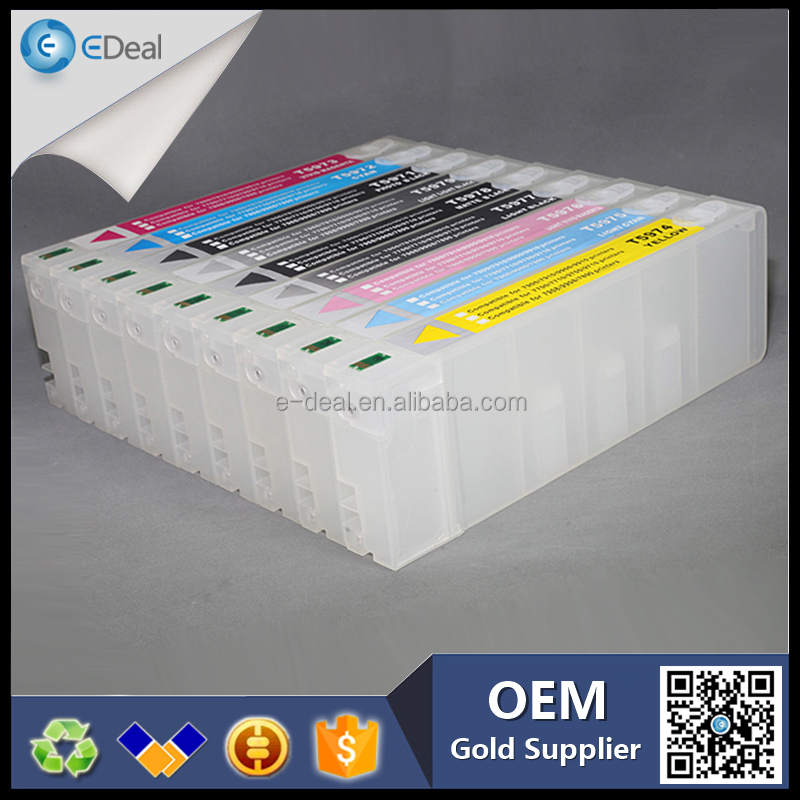 China suppliers 700ml Refillable cartridge for Epson sl-d3000 sl-d700 with auto reset chip