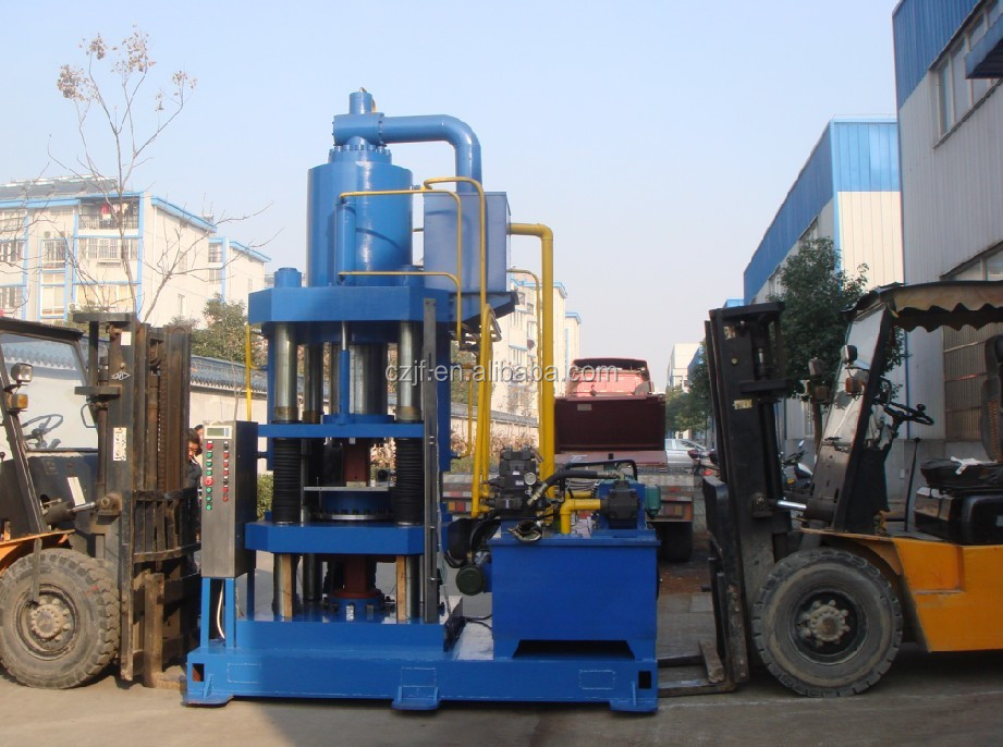 Metal oxide powder hydraulic tablet briquette press machine for sale