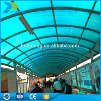 Polycarbonate PC Embossed Sheets Roof Material commercial greenhouses