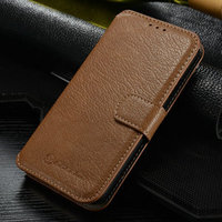 CaseMall CaseMe Genuine Leather Book Style Wallet Case For Samsung S5, for Galaxy S5 Caseme-S5-001