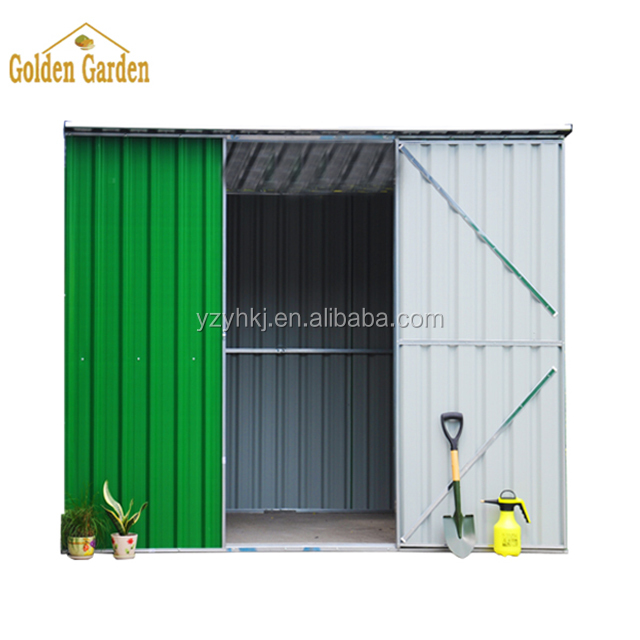 Metal Outdoor motorbike storage shed for Sale