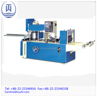 restaurant napkin paper making machine for printing and folding