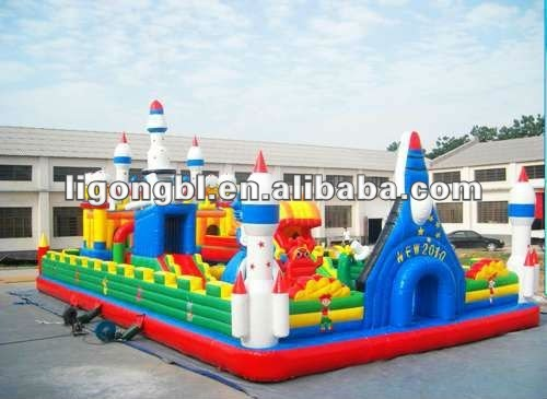 CE and EN71 standard,inflatable amusement park,inflatable fun city