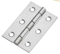 Professional satin Nickel us15 Steel Alloy safety metal door hinge window Flip look