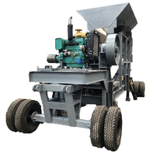 Mini PE400*600 Truck-mounted Jaw Mobile Crusher Plant Price For Sale