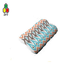 good quality polyester 3d spacer air mesh fabric comfortable and washable bath pillow