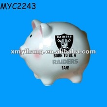 NFL ceramic souvenir piggy banks