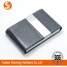 Good for value low price hot sell card holder billfold business card leather case