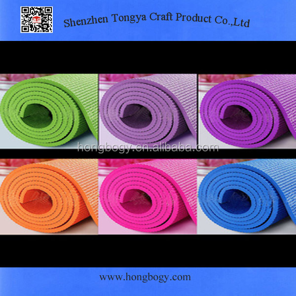 Various New Non-slip Durable Yoga Mat Pad Fitness Practice Exercise
