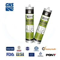 high quality silicon silicone sealant 300ml industrial transparent
