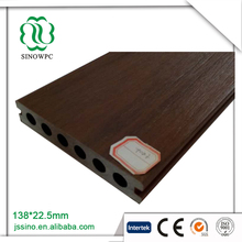 Super high gloss laminate floor co extrusion wpc decking