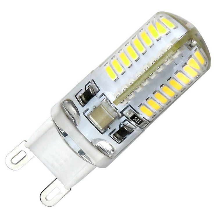 LED G9 Lamp 6W AC85-265V Corn Bulb SMD3014 64leds Lampada LED Bulb Replace Halogen Light 360 Beam Angle
