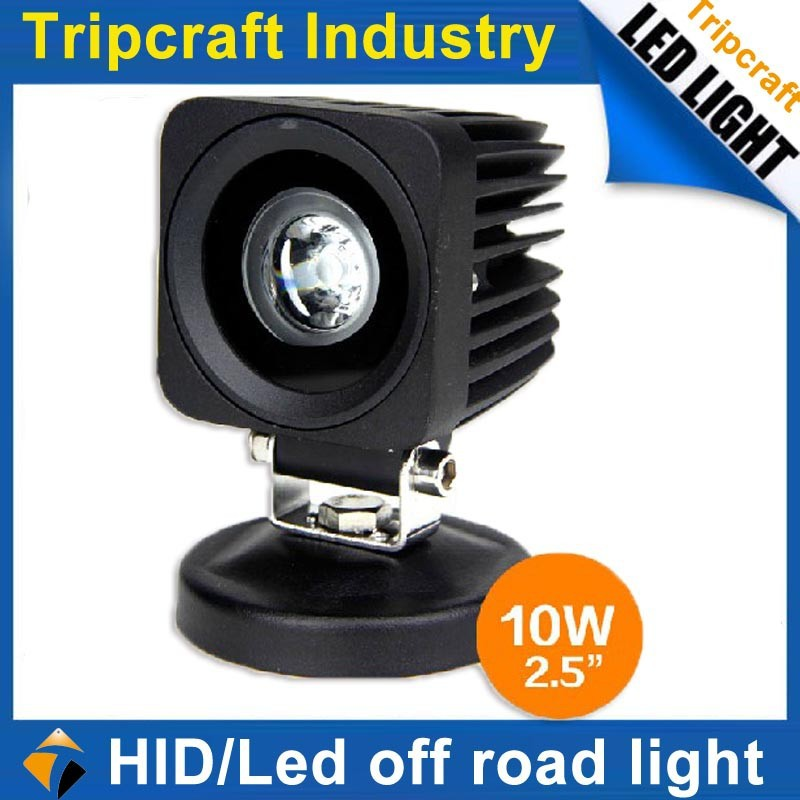 "Auto Part 2.5"" 10W Mini Square LED Work Light 10w Spot Led Work Light for Tractor SUV ATV Offroad"