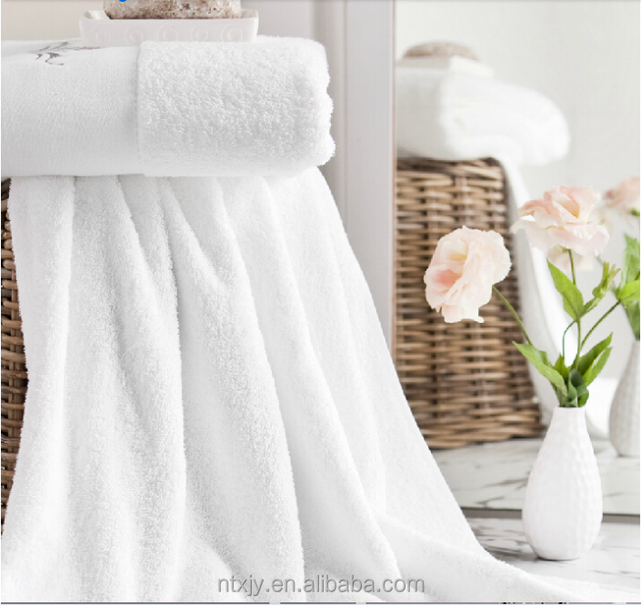 Eco -friendly Pure Cotton Towel For Hotel