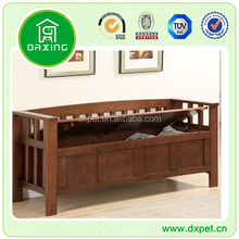 Living room furniture wooden antique wooden indoor bench