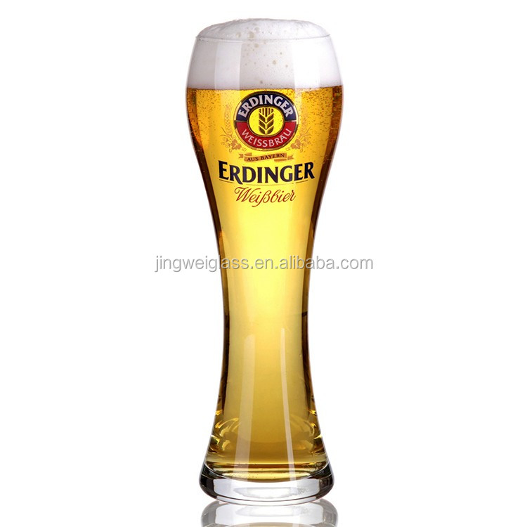 Promotional Wholesale Innovative Pyrex Handmade Beer Glass