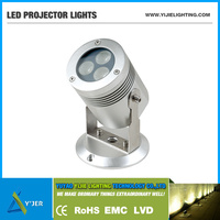 YJX-0029 IP65 PF0.9 RGB high power 3W stand spot projector led flood light bridge lamps