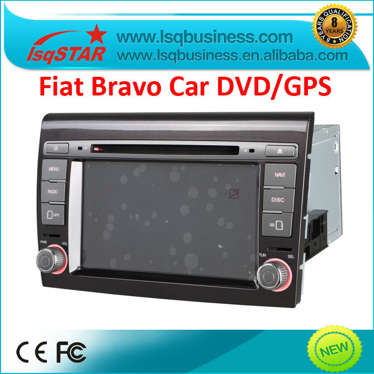 LSQ Star New Fiat Bravo car dvd with gps/ 3g usb port hot selling