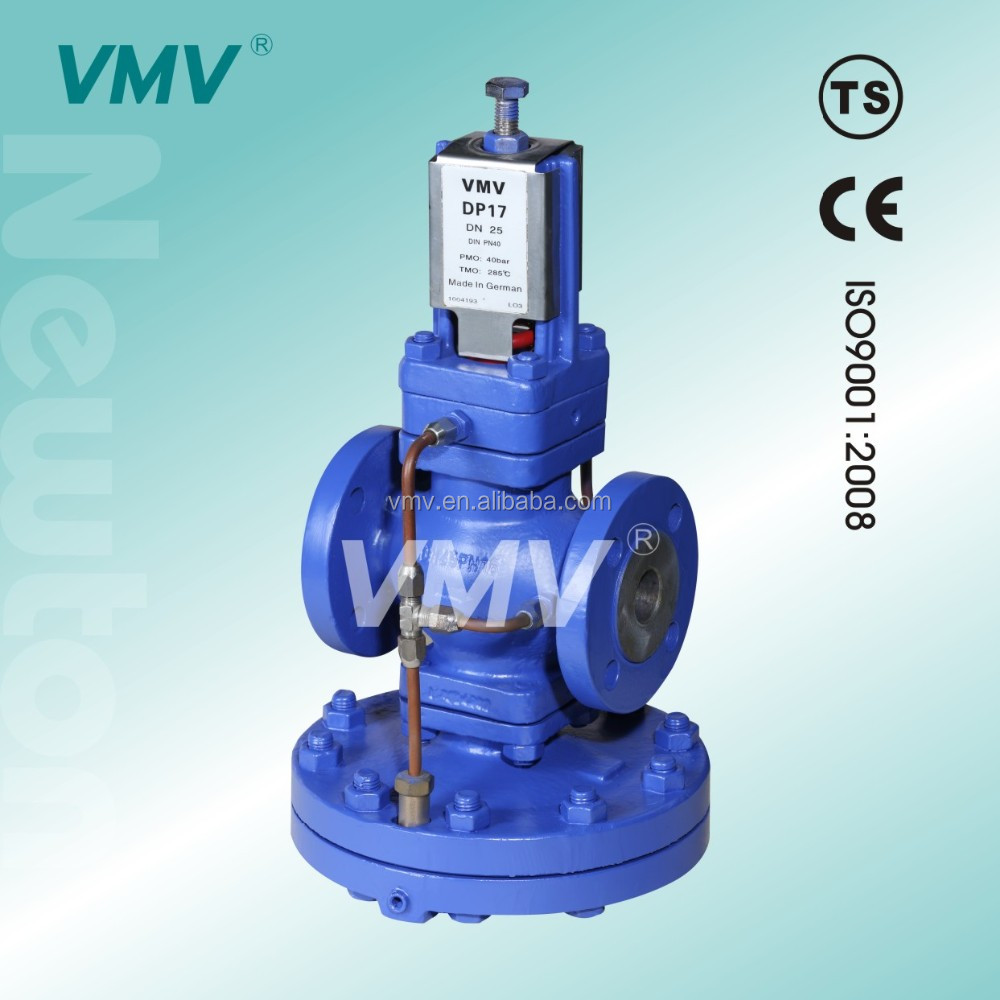 Factory of China Media Temperature Spirax Sarco type DP17 wcb gs-c25 air pressure relief valve for steam