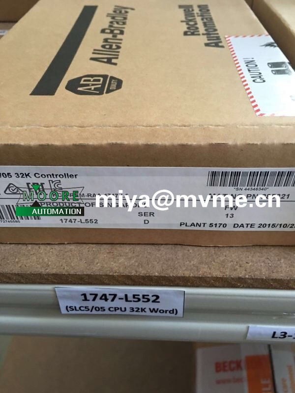 ALLEN BRADLEY 1756-A10 1756A10 (new and original )