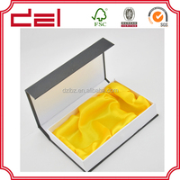 Customized high quality rigid magnetic gift box wholesale