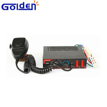 12V DC Car electronic Police 100w amplifiers electronic siren horn alarm with light controls