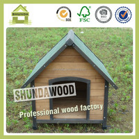 SDD08 wholesale outdoor wooden dog kennel