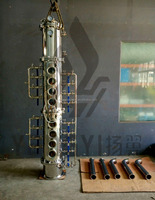 1000L High quality alcohol distillation equipment distillation column pot still distillation