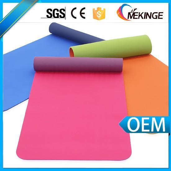 Yoga Mat Packing Box Tpe Yoga Mat Material Rolls