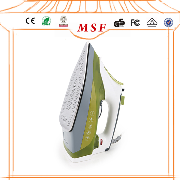 small household electric appliance laundry care fabric friendly shirt steam iron for furnishing