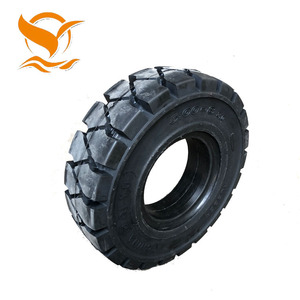 4.00-8 Best quality forklift solid tyres rubber tire