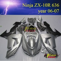 High Quality ABS motorcycle Fairing Racing Fairing plastic body cover for kawasaki ninja ZX10R 636 2006 2007