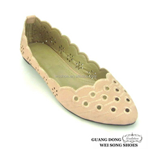 china manufacture latest beautiful spring high quality comfortable ladies elegant flat women shoes