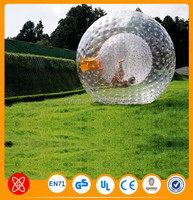 Extreme Downhill Sports Inflatable Bowling Zorb Rolling Ball for People