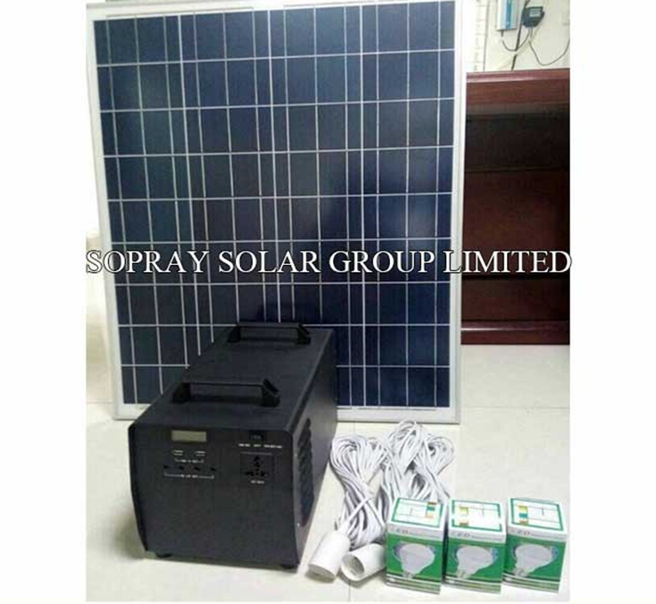 Portable Solar 600W Power Systerm Kits/home use complete solar system