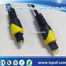 Audio optical fiber cable,toslink plug to toslink plug ideal for MD,CD,DVD,MP4
