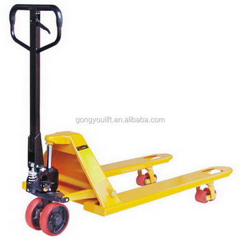 2T/2.5T/3T Hand Pallet Truck with overall cylinder in best price