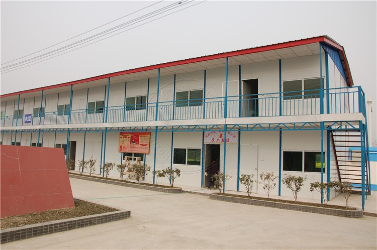 Sandwich panel prefabricated steel structure apartment building