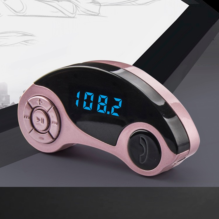 2016 Newest Factory supply  5V 2.1A dual USB car charger FM transmission Car MP3 player with LCD display .jpg