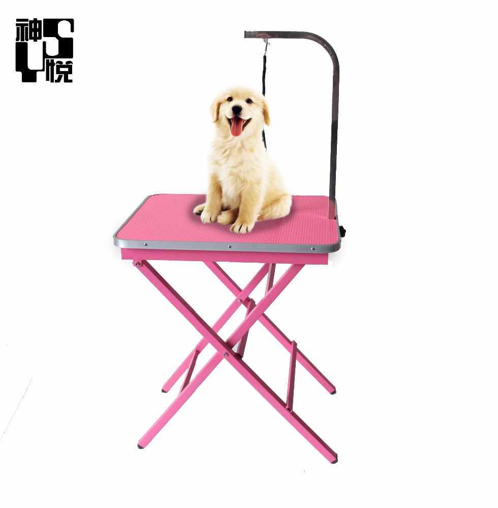 Manufacturer China High quality small pet grooming portable table used in pet shop