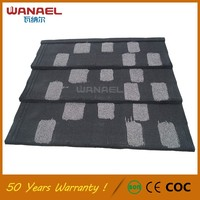Wanael Project Materials Supplier Color Steel Roof Tile Design Structure Roofing Shingles Prices