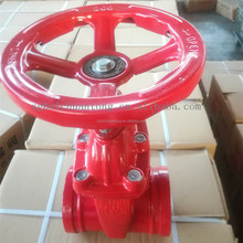 Fire dark rod valve z85x-1.6 Q dark bar groove gate valve.