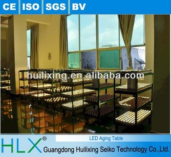 HLX supply LED aging table with different size